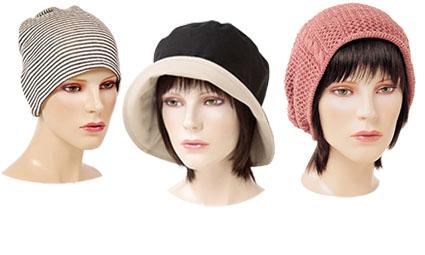 シーズン毎に新作帽子が登場します。